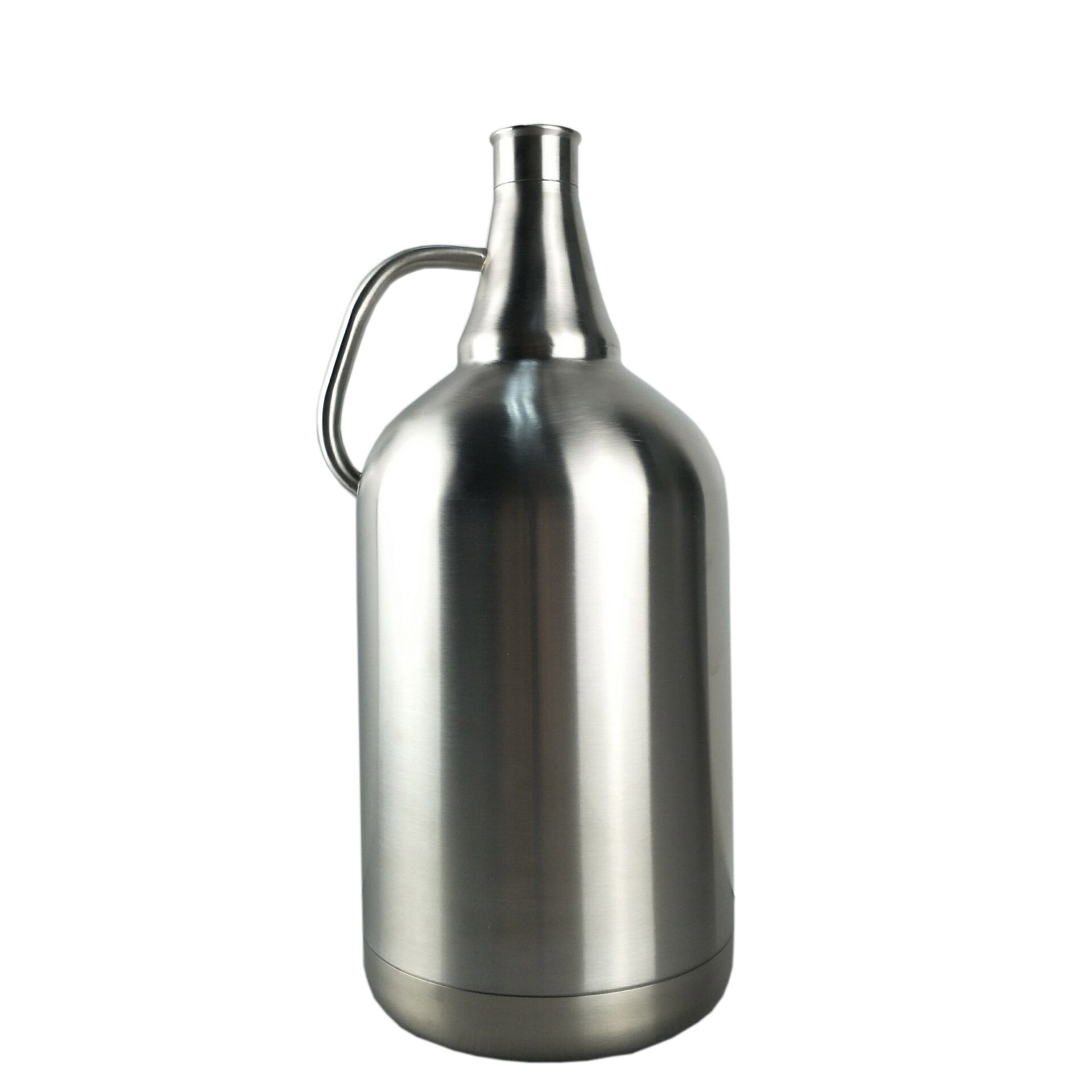 Stainless Steel 1 Gallon Growler With Mini Keg Lid Fit