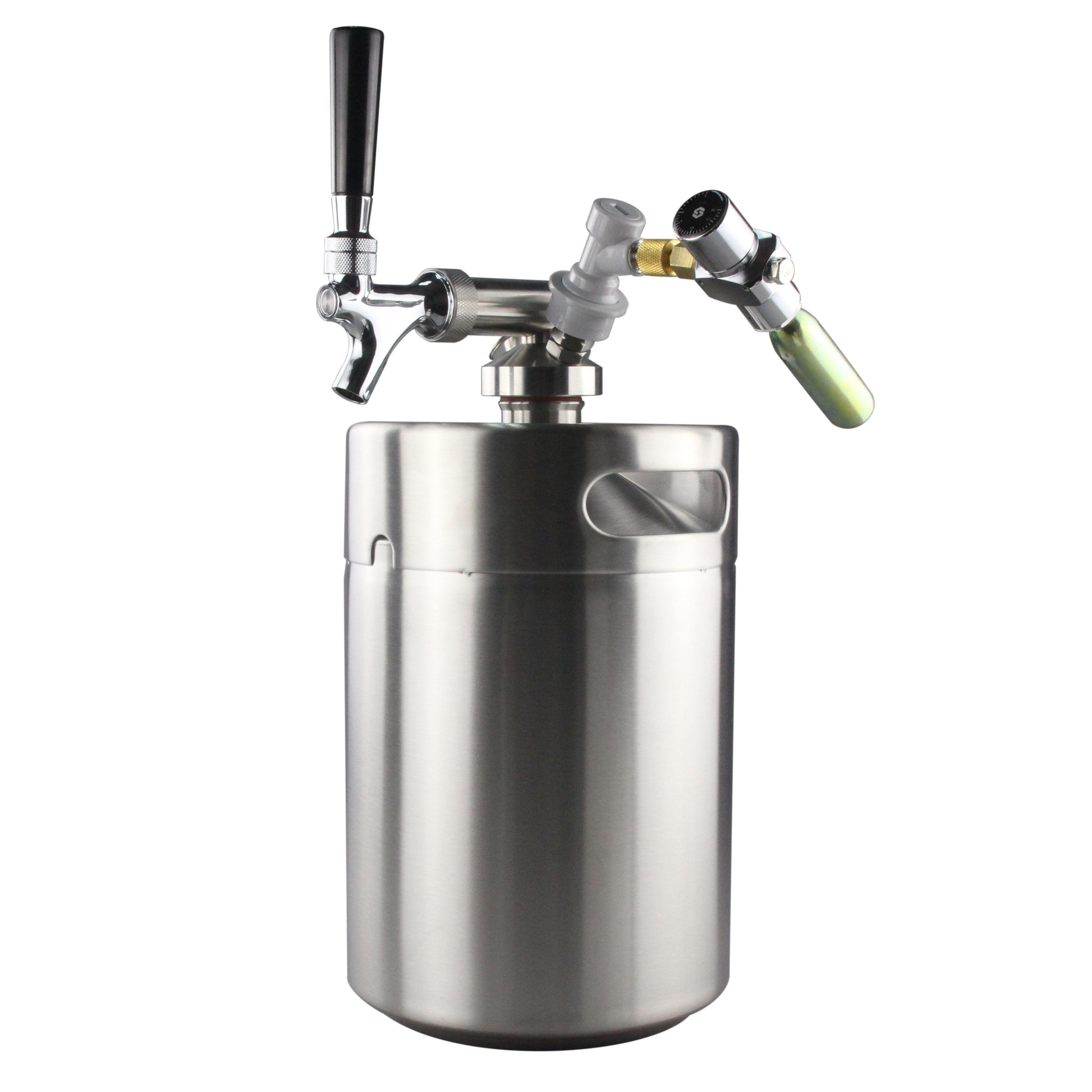 Force Carbonating Homebrew Single Ball Lock Draft Beer