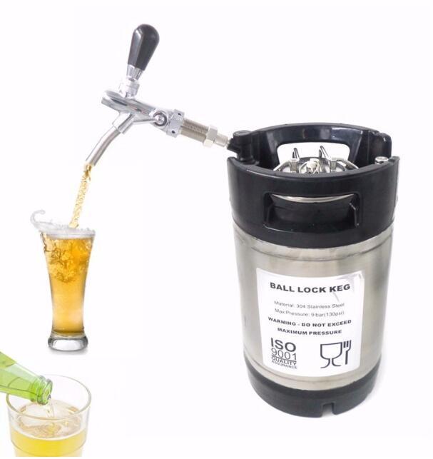 Flow Control Chrome Draft Beer Faucet - sinobatoo.com