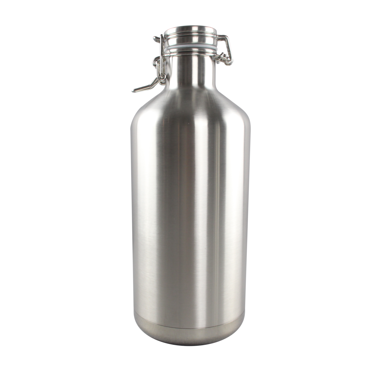 64 Oz Stainless Steel Growler Bottle With Side Lid K