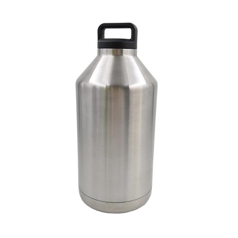 1 Gallon Stainless Steel Keg Growler Match Yeti Loop Cap