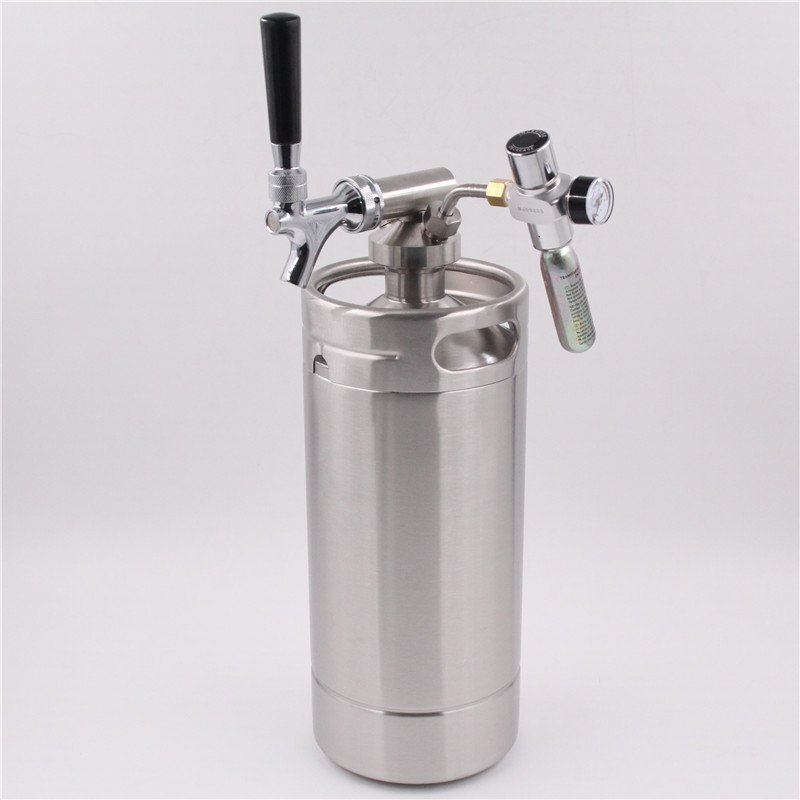 One Gallon Personal Mini Keg Dispensing System Draft Beer